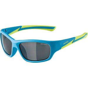 Alpina Flexxy Youth, blau matt/lime