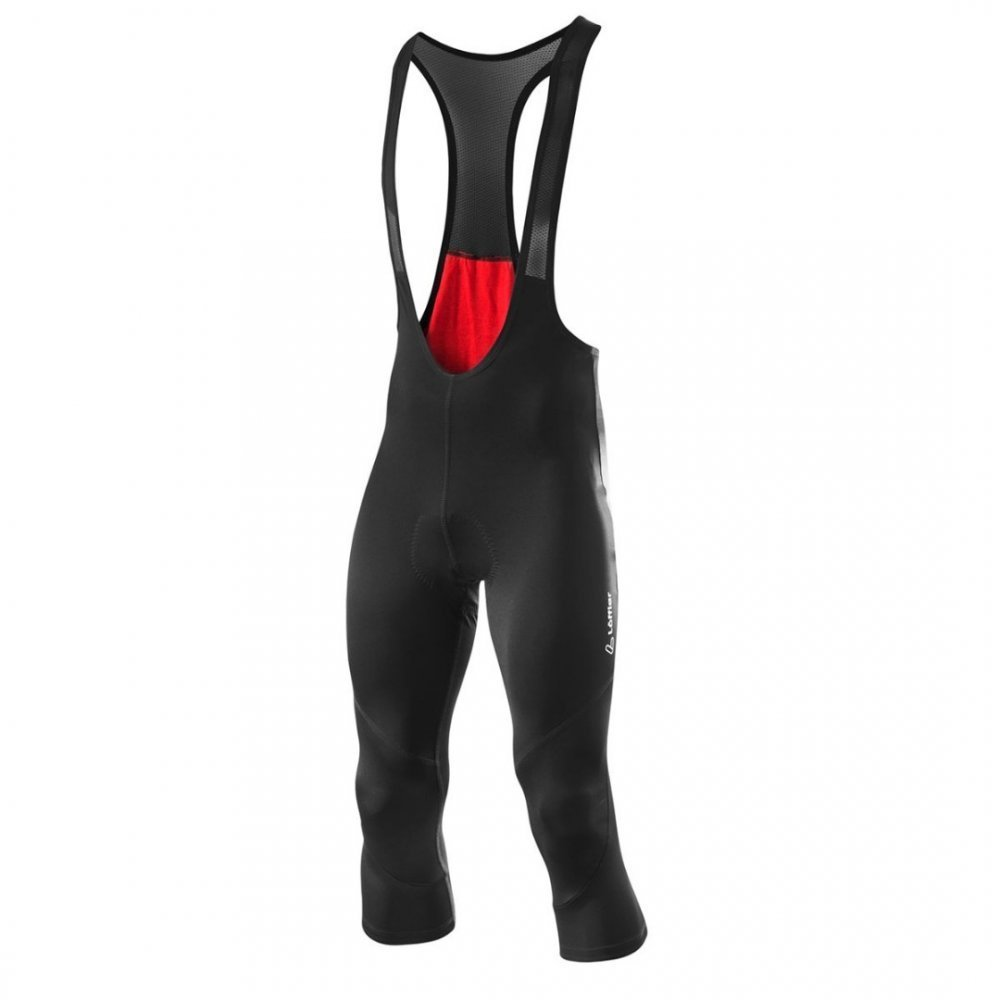 Löffler M Bike 3/4 Bib Tights Basic Gel, schwarz 54
