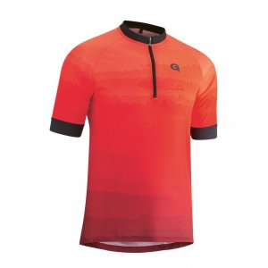 Gonso PILONE kurzarm Radtrikot, high risk red, M