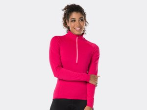 Bontrager Trikot Vella Thermal Long Sleeve L Vice Pink